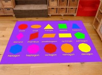 Classroom Playmat GEOMETRIC SHAPES
