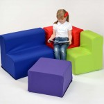 Rainbow Cotton Sofa 2