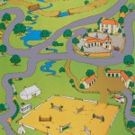 Horse Riding Playmat 1