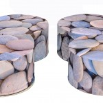pebble buffets set of 4 1
