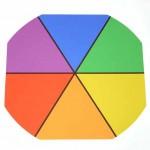 Summer Colour Wheel Outdoor Mat 2