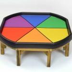 Summer Colour Wheel Outdoor Mat 3