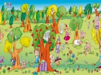 Fairy Wood Panoramic Playmat