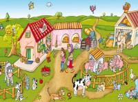 Farm Panoramic Playmat