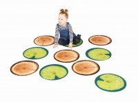 Logs And Leaves Set Of 10